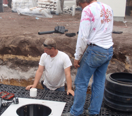 Rainwater Re-use System Installation